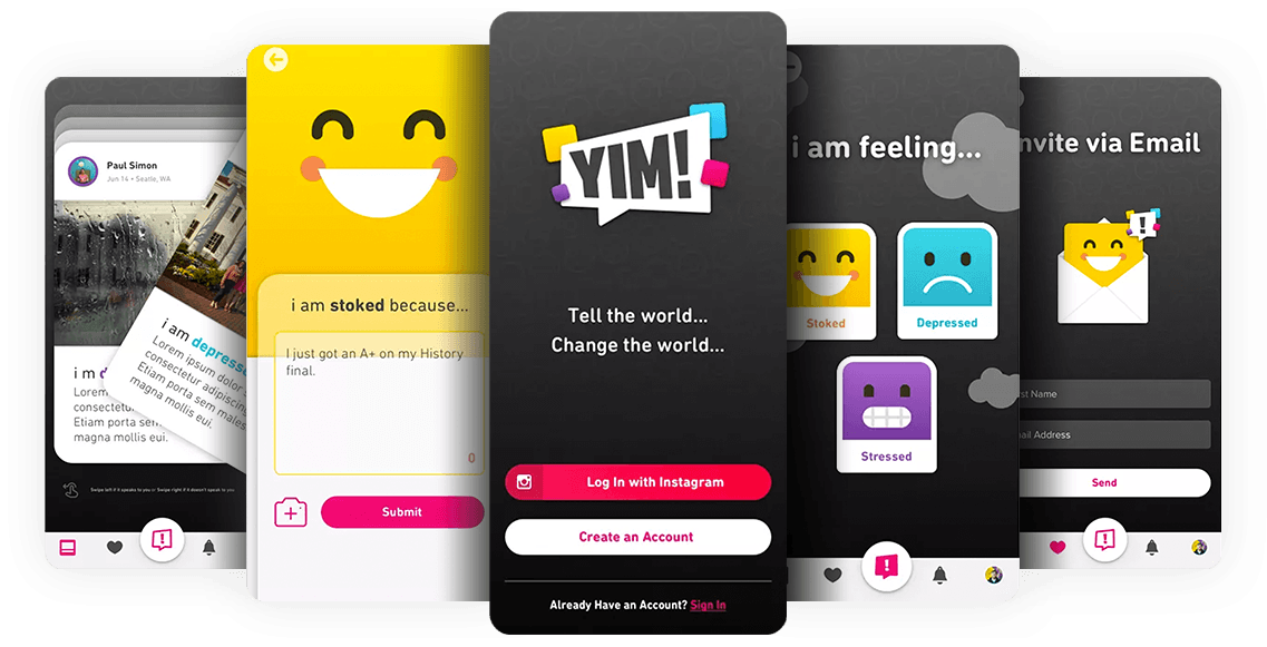 App Development Case Study - YIM!