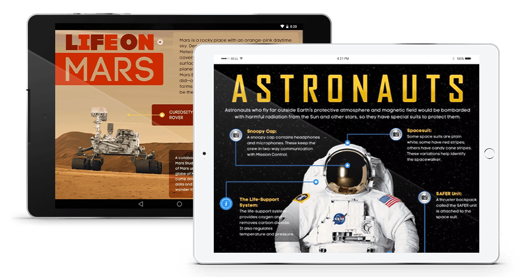 Mobile App Development Case Study - KIDS DISCOVER Space