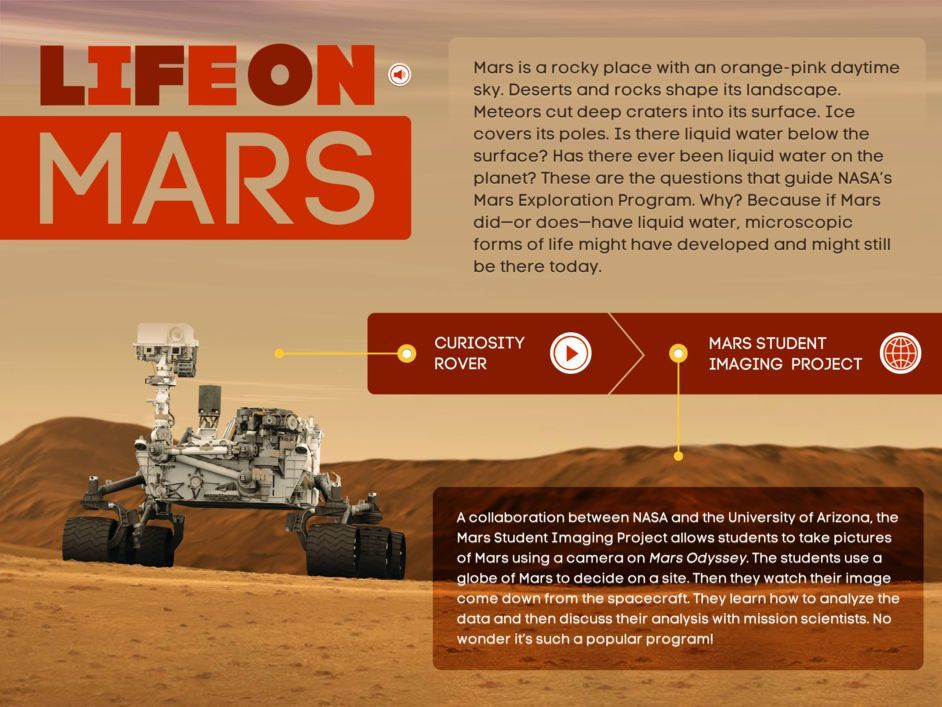 Case Study - KIDS DISCOVER Space Mars