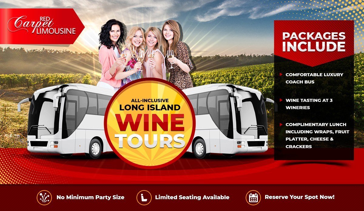 Red Carpet - Wine Tour Ad